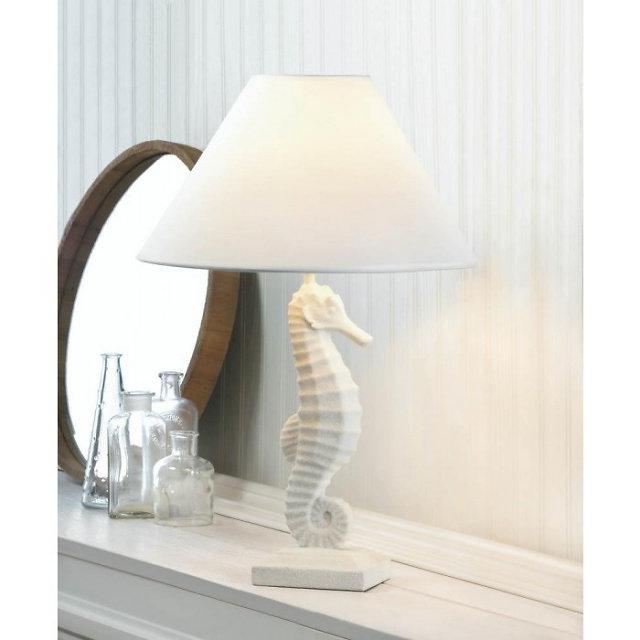 Home   JUMBO COUNTRY DECOR   Seahorse Table Lamp