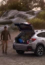 Subaru XV batozinovy priestor