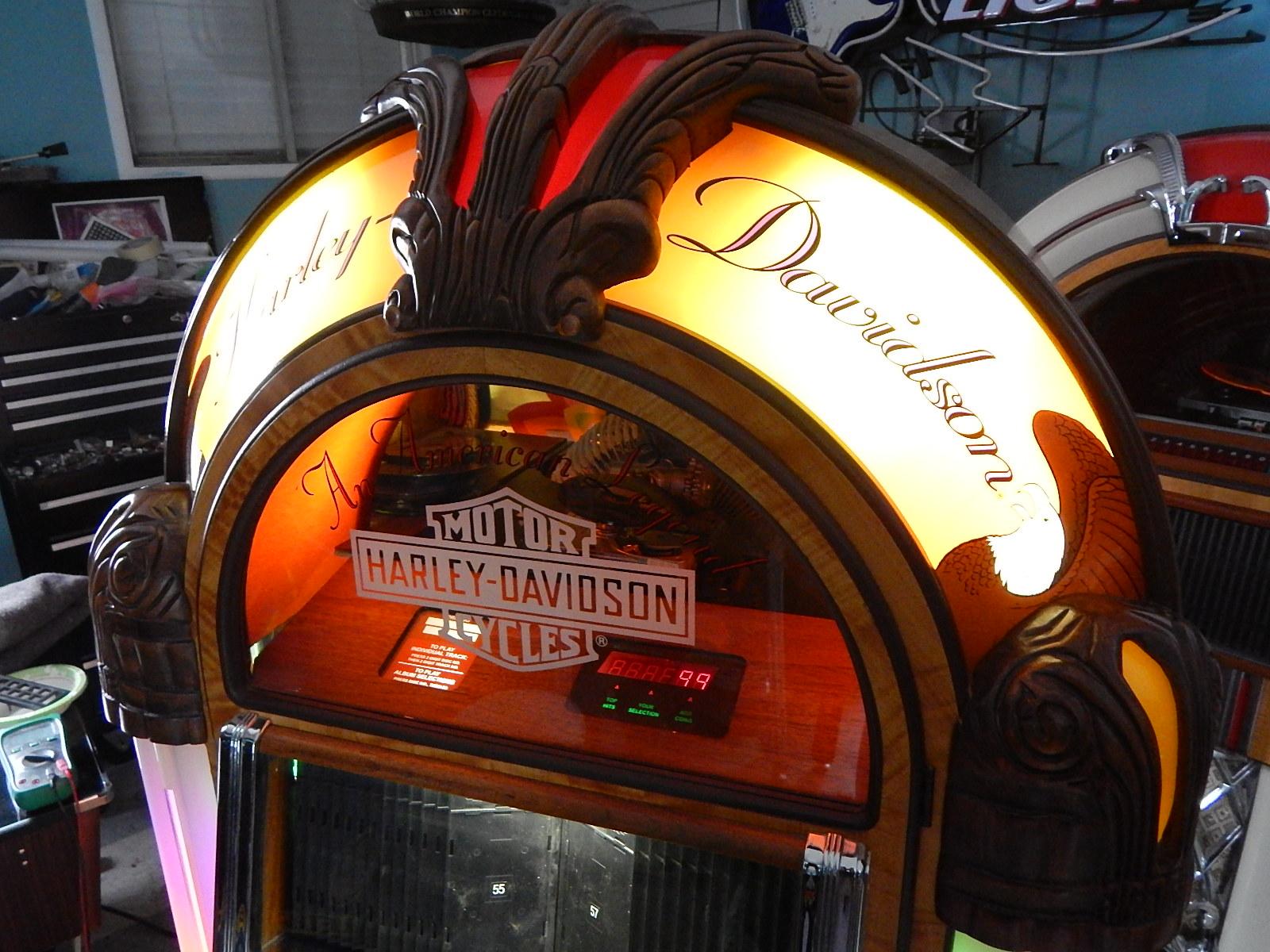 Rock-Ola HARLEY DAVIDSON CD Bubbler