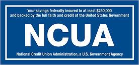 NCUA Funds Insured logo