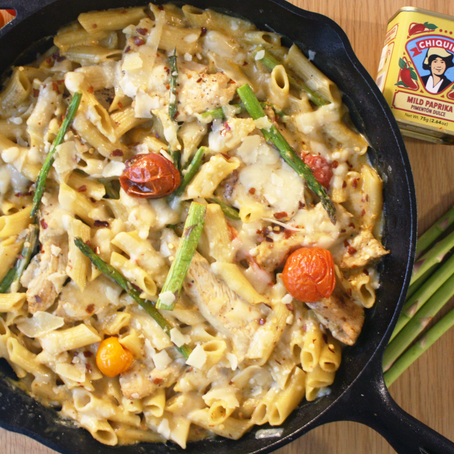 Rallenti Creamy Chicken Penne Pasta with Blistered Tomatoes