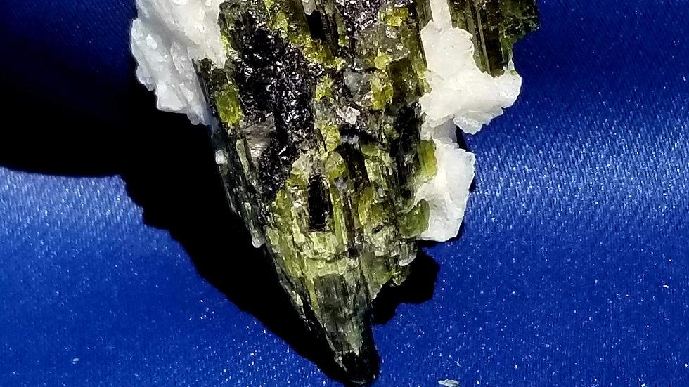 Green and Black Tourmaline
