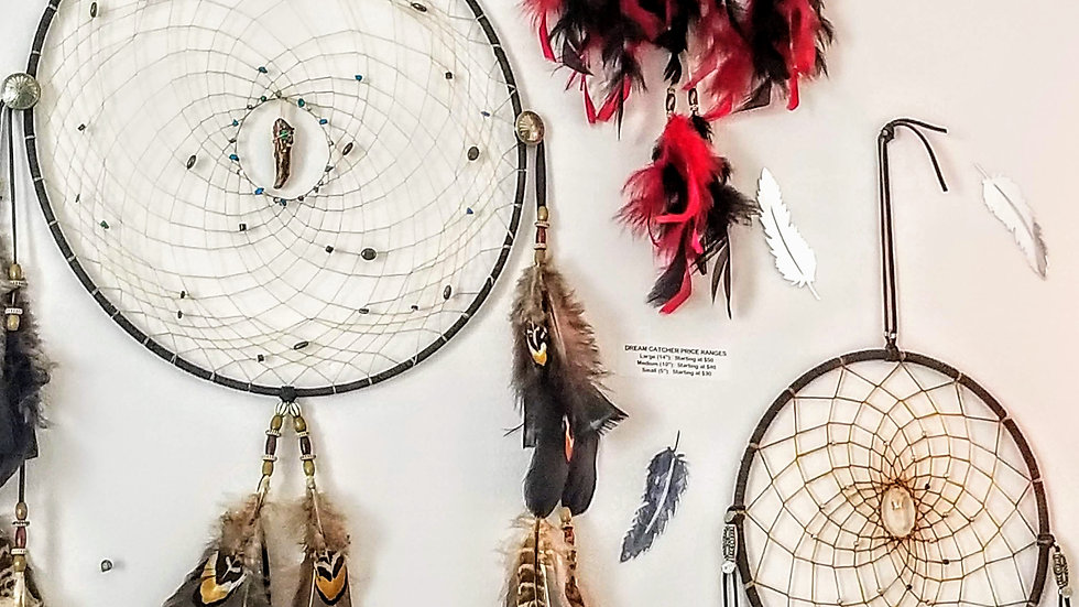 Custom Made Fancy Dreamcatcher (Medium)