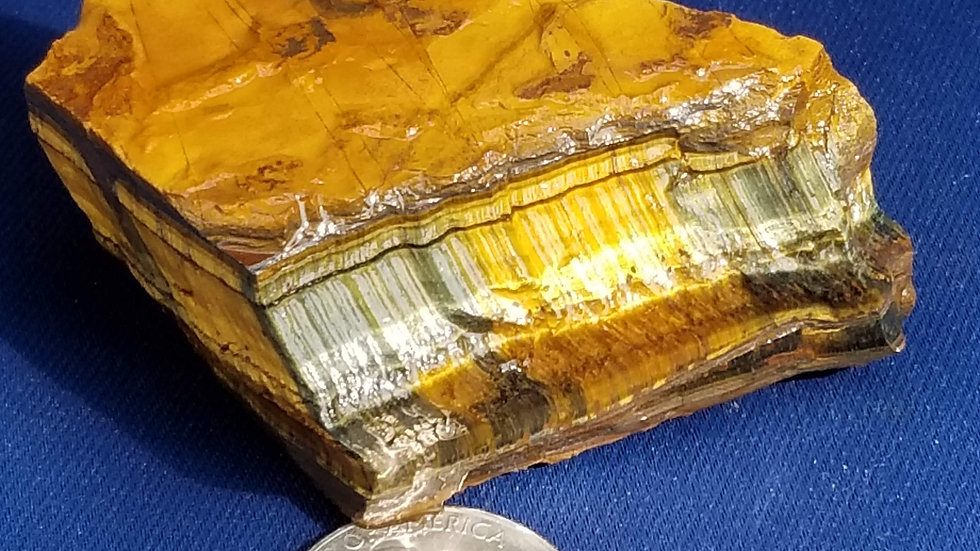 Large Rough Tiger's Eye