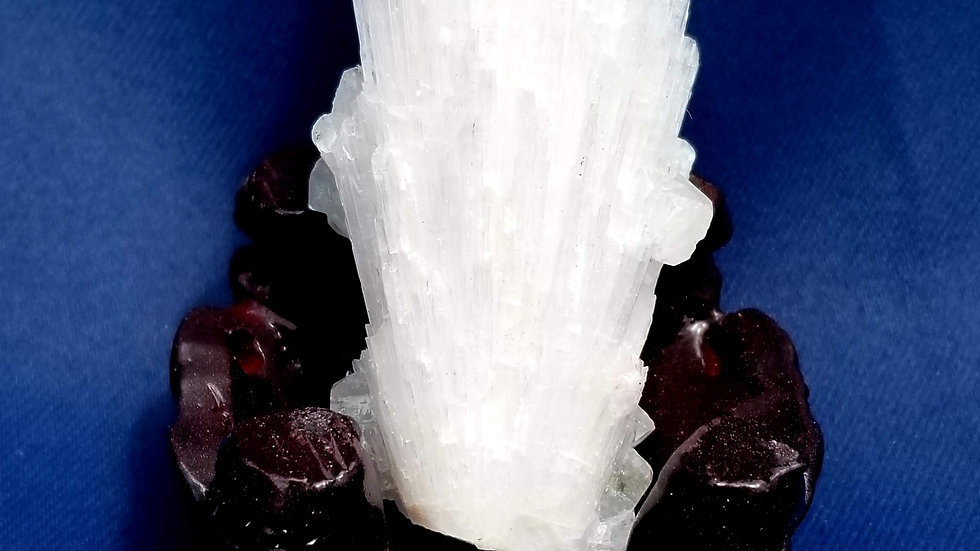 Scolecite with Apophyllite