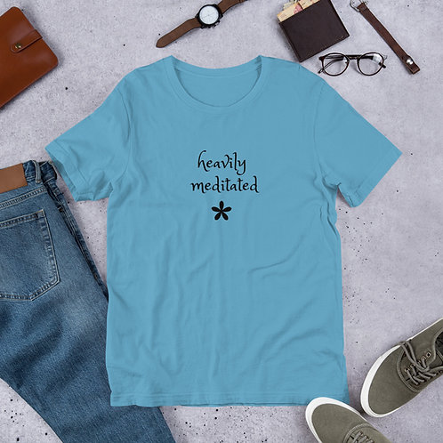 Heavily Meditated Short-Sleeve Unisex T-Shirt