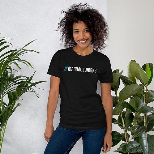 #MASSAGEWORKS Short-Sleeve Unisex T-Shirt