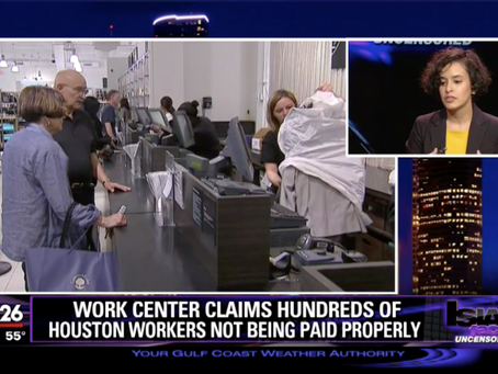 Work center claims hundreds of Houston workers are victims of labor abuse