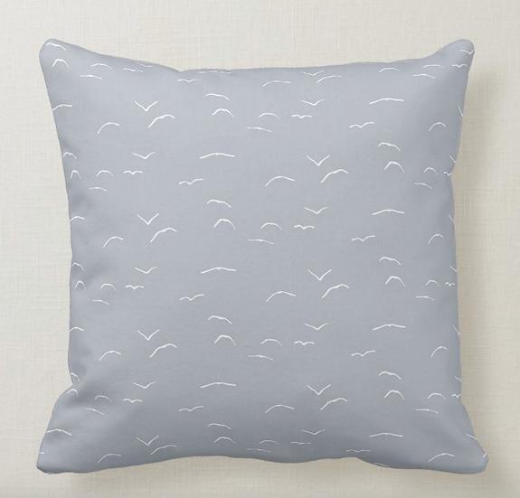 """20"""" Seagulls (linen)"""