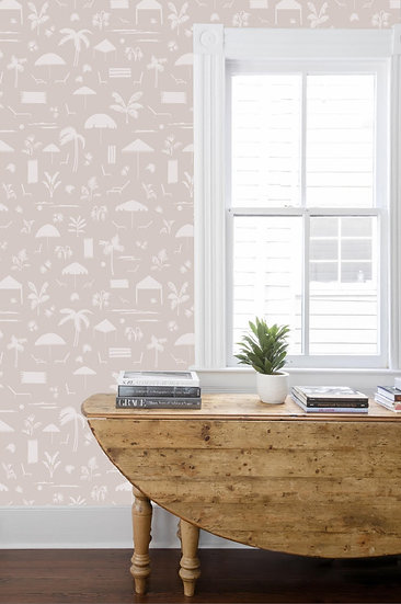 FOLLY TOILE Wallpaper