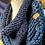 Thumbnail: navy & petrol Tiffany cowl