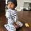 Thumbnail: SET 1adult & 1 kids : oatmeal  & raisin  beefy beanie