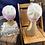 Thumbnail: cream & blossom beanie set