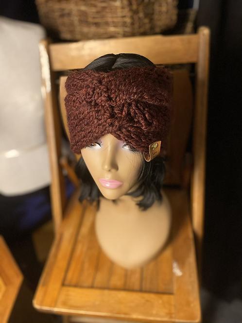 burgundy earwarmer
