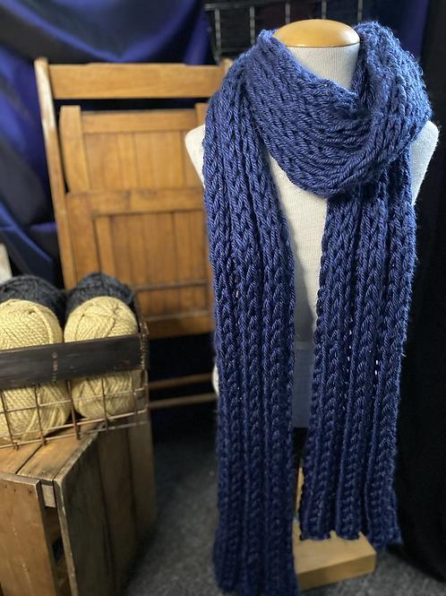 blue Lenny scarf