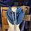 Thumbnail: slate & blue drawstring hoodie