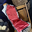 Thumbnail: Newspaper Pattern w/red satin lining