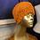 Thumbnail: pumpkin cabled ear warmer (small )