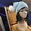 Thumbnail: icy glitter beanie w/pom