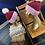 Thumbnail: red velvet beanie set w/ pom