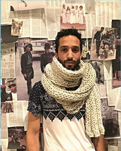 The MEJI scarf $100