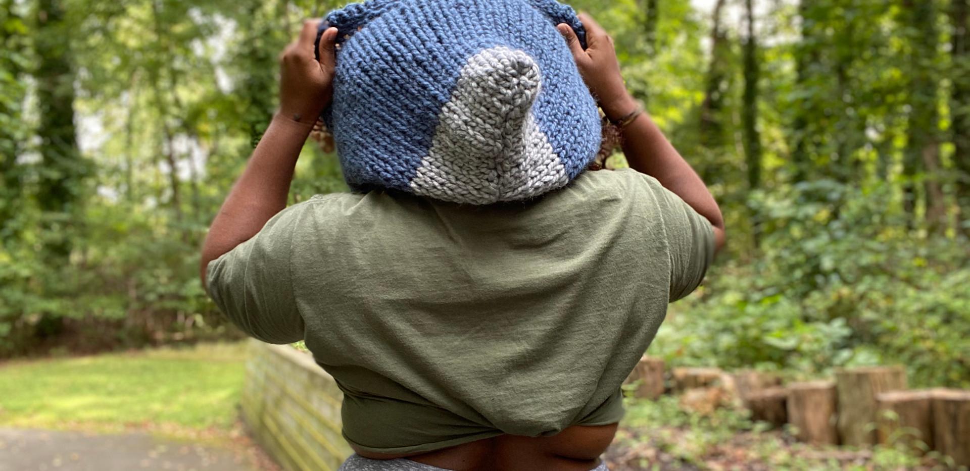 Drawstring hoodie