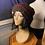 Thumbnail: burgundy & multi brim loc tam