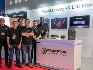 BROMPTON TECHNOLOGY ENJOYS HIGHLY SUCCESSFUL ISE 2019