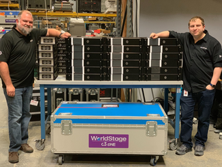 WORLDSTAGE MAKES MAJOR INVESTMENT IN BROMPTON TECHNOLOGY'S TESSERA LED PROCESSORS