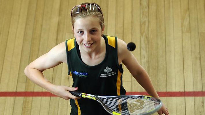 SA Squash star selected in National team