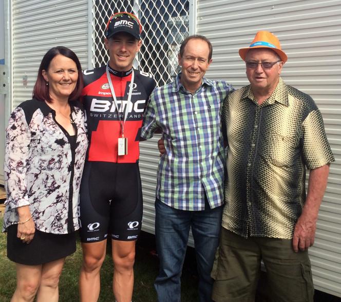 South Australian Rohan Dennis wins 2015 Tour Down Under