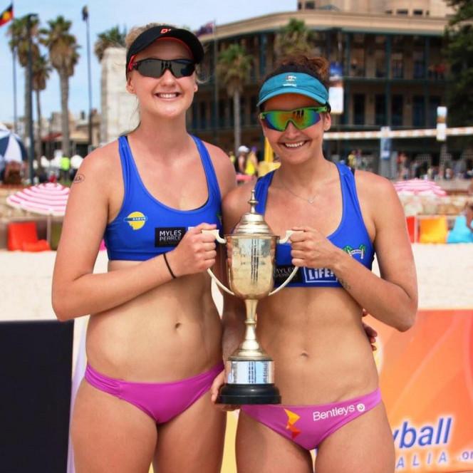 Becchara and Stef 2014/15 SA Open Champions