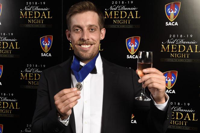 Lehmann wins Neil Dansie Medal