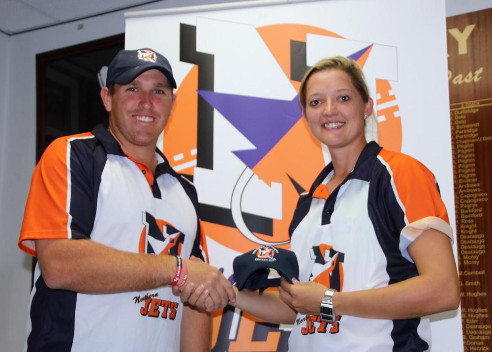 Mark Cosgrove and Sarah Taylor