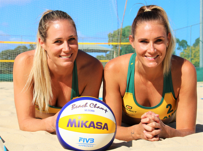 Sisters Sights on Rio's Sand