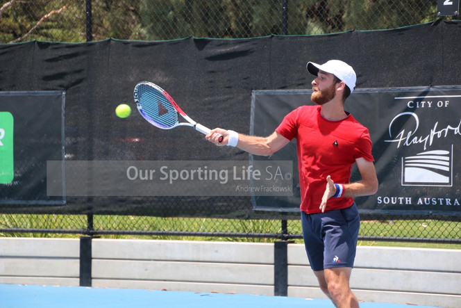 Playford Tennis International Day 2 update