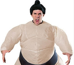 Inflatable Sumo Wrestling Costume