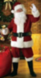 Santa costume rentals toronto