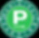 green p logo
