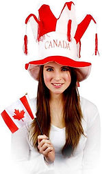 canada day hats