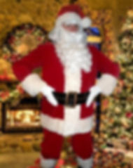 Santa Suit Costume Rental