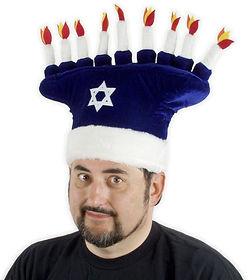 menorah hat