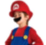 Children's Super Mario Costume