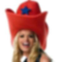 giant foam cowboy hat