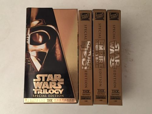 I grew up on the 1997 special editions of the original trilogy. Image via eBay.co.uk.
