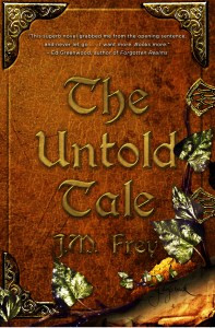 The Untold Tale is the first book in The Accidental Turn series. Image via J.M. Frey.