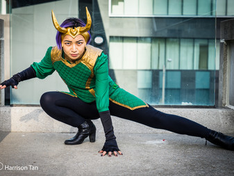 Loki Agent of Asgard budget headpiece tutorial