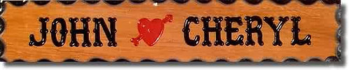 Small Cupid's Heart Sign