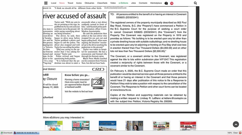 Screenshot_2020-06-18 Oak Bay News - eEd