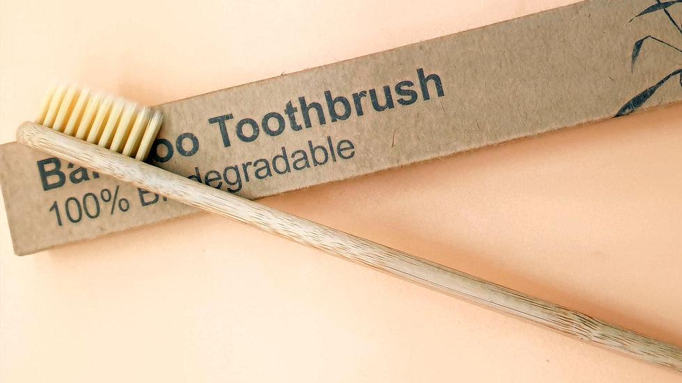 brosse à dents bambou 100% biodégradable